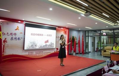 """江海区举办""""红色精神在传承""""红故事宣讲赛"""