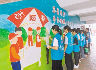 """开平旅游购物街增添""""网红通道"""" 打造传播文明新窗口"""