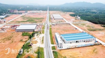 恩平7个重点项目集中动工投产