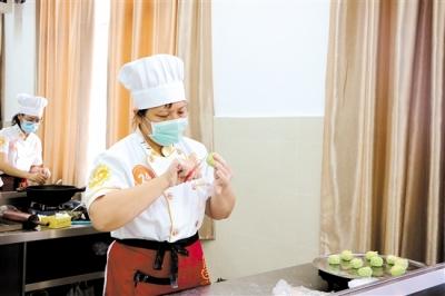 市粤菜师傅(五邑面点)、南粤家政(育婴员)、茶艺师职业技能竞赛总决赛举行