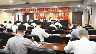 恩平市委常委会(扩大)会议暨全市干部大会召开