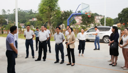 蓬江区领导率队到鹤山市学习交流乡村振兴与工业园区建设经验