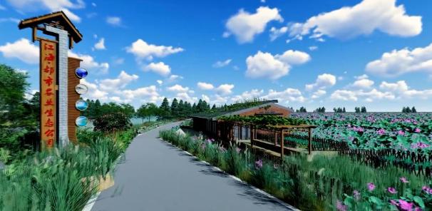 江海區都市農業生態公園多個園區進入招商階段