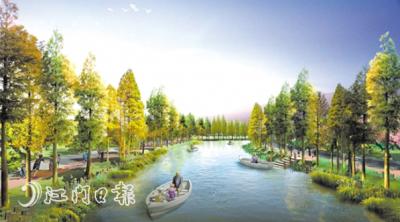 江海區都市農業生態公園將于春節前亮相